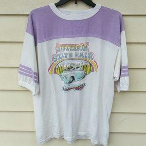 Jefferson State Fair Shirt 1991 Vintage 90s XL